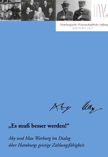 """Karen Michels: """"Es muß besser werden!"""", Buch"""