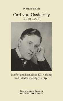 Werner Boldt: Carl von Ossietzky (1889-1938), Buch