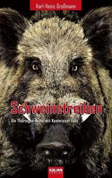 Karl-Heinz Großmann: Schweinetreiben, Buch
