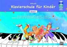Willard A. Palmer: Alfreds Klavierschule für Kinder Band 1, Buch