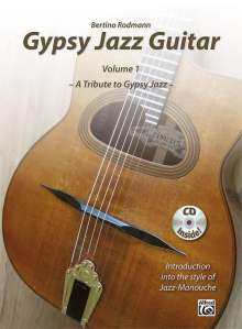 Bertino Rodmann: Gypsy Jazz Guitar, Buch