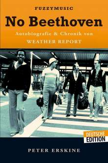 Peter Erskine: No Beethoven, Buch