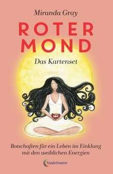 Miranda Gray: Roter Mond - das Kartenset, Buch