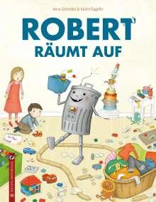Anna Schindler: Robert räumt auf, Buch