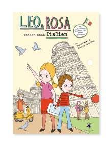 Marcus Mery: Leo und Rosa reisen nach Italien, Buch
