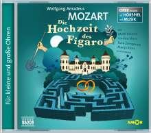 Oper erzählt als Hörspiel mit Musik - Wolfgang Amadeus Mozart: Die Hochzeit des Figaro, CD