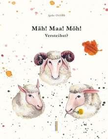 Anke Ortlieb: Mäh! Maa! Möh! Versteihst?, Buch