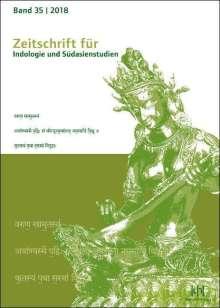 Zeitschrift für Indologie und Südasienstudien, Band 35 (2018), Buch