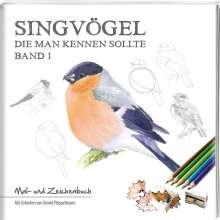 Bernd Pöppelmann: Singvögel - Band 1, Buch