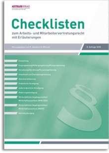 Checklisten  2018, Buch