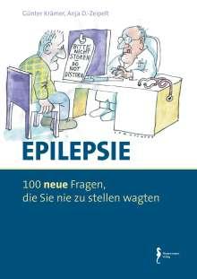 Günter Krämer: Epilepsie - 100 Fragen, die Sie nie zu stellen wagten, Buch