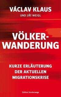 Václav Klaus: Völkerwanderung, Buch