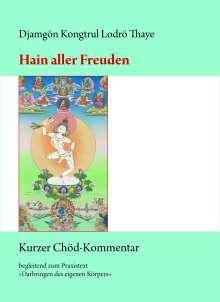 Djamgön Kongtrül Lodrö Thaye: Hain aller Freuden, Buch
