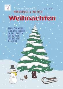 Vicky Bo: Vicky Bo's zauberhaftes Mitmachbuch & Malbuch - Weihnachten. Ab 3 bis 7 Jahre, Buch