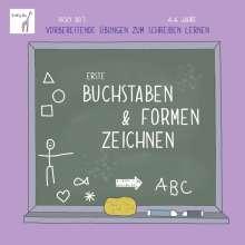 Vicky Bo: Erste Buchstaben & Formen zeichnen. Vicky Bo's vorbereitende Übungen zum Schreiben lernen. 4-6 Jahre, Buch