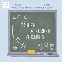 Vicky Bo: Erste Zahlen & Formen zeichnen. Vicky Bo's vorbereitende Übungen zum Schreiben lernen. 4-6 Jahre, Buch