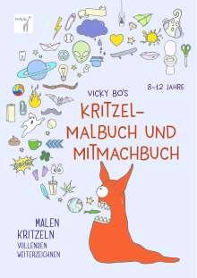 Vicky Bo: Vicky Bo's Kritzel-Malbuch und Mitmachbuch, Buch