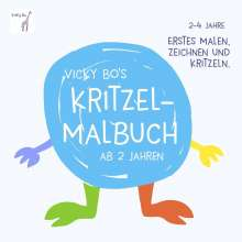 Vicky Bo: Vicky Bo's Kritzel-Malbuch, Buch