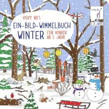 Vicky Bo's Ein-Bild-Wimmelbuch für Kinder ab 1 Jahr - Winter, Buch