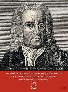 Hans-Dieter Zimmermann: Johann Heinrich Schulze, Buch