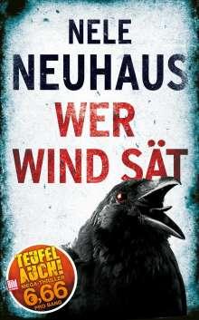 Nele Neuhaus: Wer Wind sät, Buch