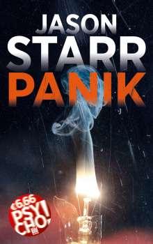 Jason Starr: Panik, Buch
