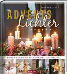 Sabrina Weller: Adventslichter, Buch
