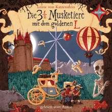 Leuw von Katzenstein: Die 3 ½  Musketiere mit dem goldenen L, 4 CDs