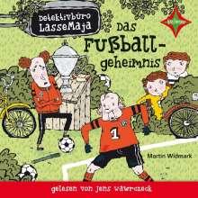 Martin Widmark: Detektivbüro LasseMaja. Das Fußballgeheimnis, CD