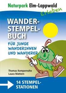 Thomas Kempernolte: Naturpark Elm Lappwald - Wanderstempelbuch-Familienpaket, Buch
