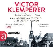 Victor Klemperer: Man möchte immer weinen und lachen in einem, 4 CDs
