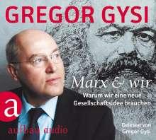 Gregor Gysi: Marx und wir, 3 CDs