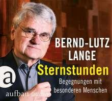 Bernd-Lutz Lange: Sternstunden, CD
