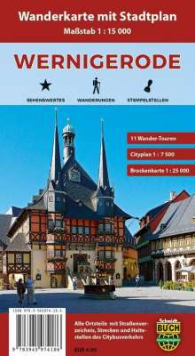 Wernigerode Stadtplan 1 : 10 000, Diverse