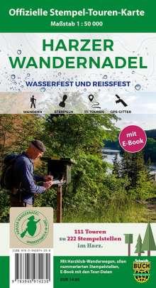 Schmidt Thorsten: Harzer Wandernadel 1 : 50 000, Diverse