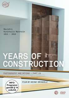Years of Construction, DVD