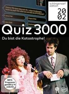 Quiz 3000 - Du bist die Katastrophe!, 2 DVDs
