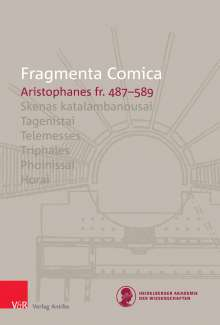 Andreas Bagordo: FrC 10.8 Aristophanes fr. 487-589, Buch