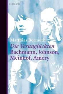 Matthias Bormuth: Die Verunglückten, Buch