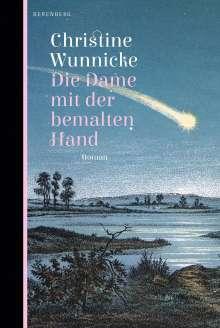 Christine Wunnicke: Die Dame mit der bemalten Hand, Buch