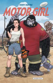 Terry Moore: Motor Girl, Buch