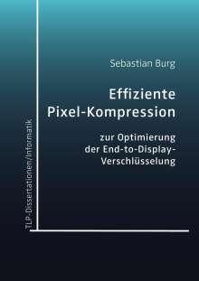 Sebastian Burg: Effiziente Pixel-Kompression zur Optimierung der End-to-Display-Verschlüsselung, Buch