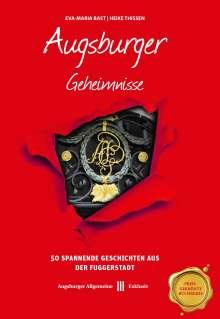 Eva-Maria Bast: Augsburger Geheimnisse, Buch