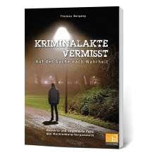 Thomas Beigang: Kriminalakte Vermisst, Buch