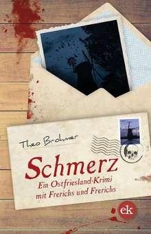 Theo Brohmer: Schmerz, Buch