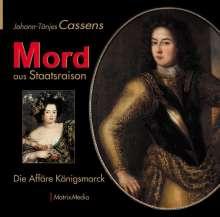 Johann-Tönjes Cassens: Mord aus Staatsraison, Buch