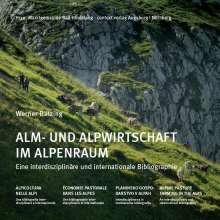 Werner Bätzing: Alm- und Alpwirtschaft im Alpenraum, Buch
