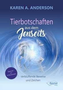 Karen A. Anderson: Tierbotschaften aus dem Jenseits, Buch