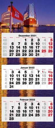 Hamburgs Elphi 2022, Kalender