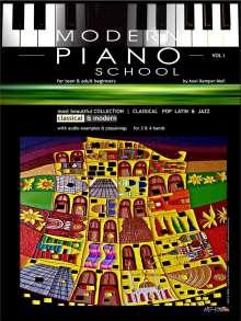 Axel Kemper-Moll: Modern Piano School 1 (engl.), Buch